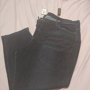 Lane Bryant Style Fix Plus Size 28 Jeans Capri Nwt